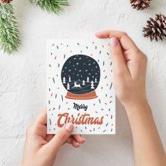 """Merry Christmas"" Kartı"