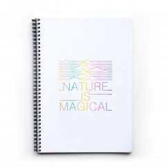 Nature Is Magical Noktalı Defter (A4)