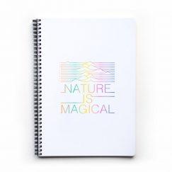 Nature Is Magical Noktalı Defter (A4)
