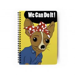 We Can Do It Çizgili Defter (A5)