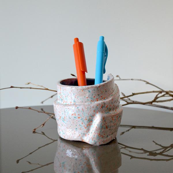 Sprinkles Blue Seramik Kalemlik