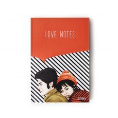 Love Notes Çizgili Defter (A5)