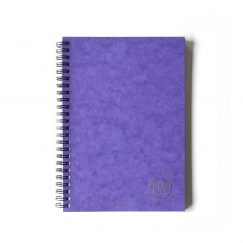Lustre Purple Çizgisiz Defter (A5)