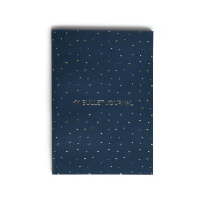 Bullet Journal Blue Noktalı Defter (A5)