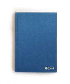 Sparkle Blue Çizgisiz Defter (A5)
