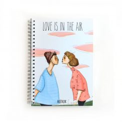 Love Is In The Air Noktalı Defter (A5)