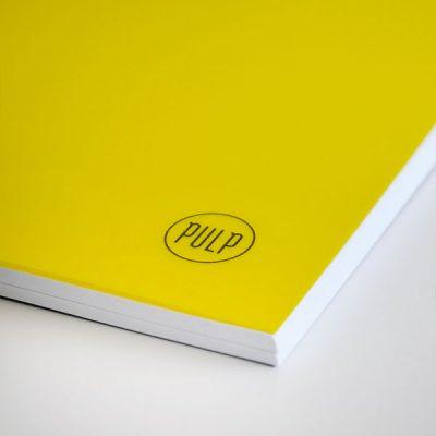 Vagabond Yellow Çizgisiz Defter (A4)