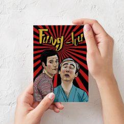 Fung-hu Tasarımlı Kartpostal