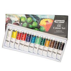 Yağlı Boya Seti 12 ml Tüp x 12 Renk