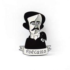 """Poecasso"" Broş"
