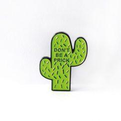 """Cactus """"Prick"""" Broş"""
