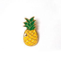 Ananas Tasarımlı Broş