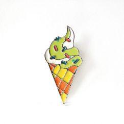 Dondurma Tasarımlı Broş