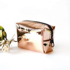 Rose Gold Hologram Para Cüzdanı