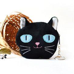 Kedi Görünümlü Cüzdan