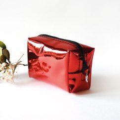 Kırmızı Hologram Para Cüzdanı