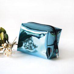 Mavi Hologram Para Cüzdanı
