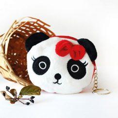 Panda Görünümlü Cüzdan