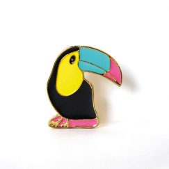 Tucan Kuş Tasarımlı Broş