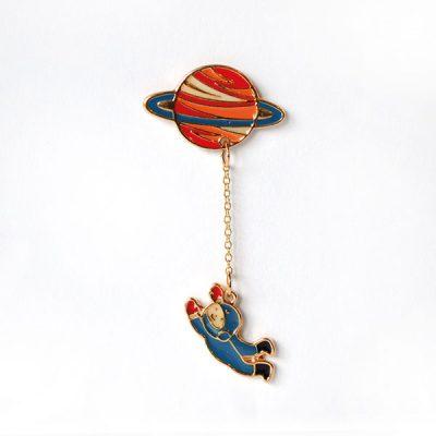 Astronot Tasarımlı Broş