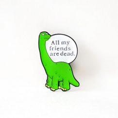 """""""Dinozor"""" Broş"""