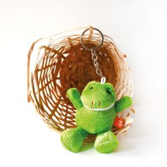 Kurbağa Tasarımlı Anahtarlık
