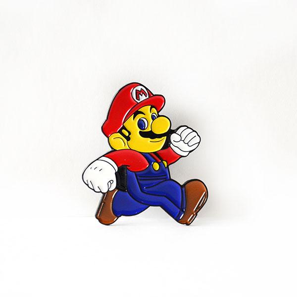 Mario Tasarımlı Broş