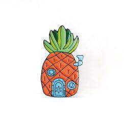 "Sünger Bob ""Ananas"" Broş"