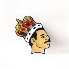 """""""Freddie Mercury"""" Broş"""