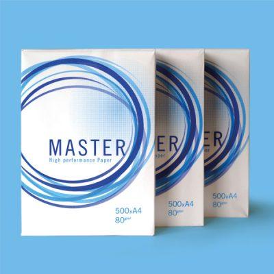 Master A4 Fotokopi Kağıdı 80gr 1 Koli (5 paket)