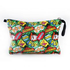 Pop Art Clutch Çanta