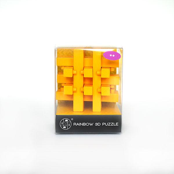Rainbow 3d Puzzle Yellow