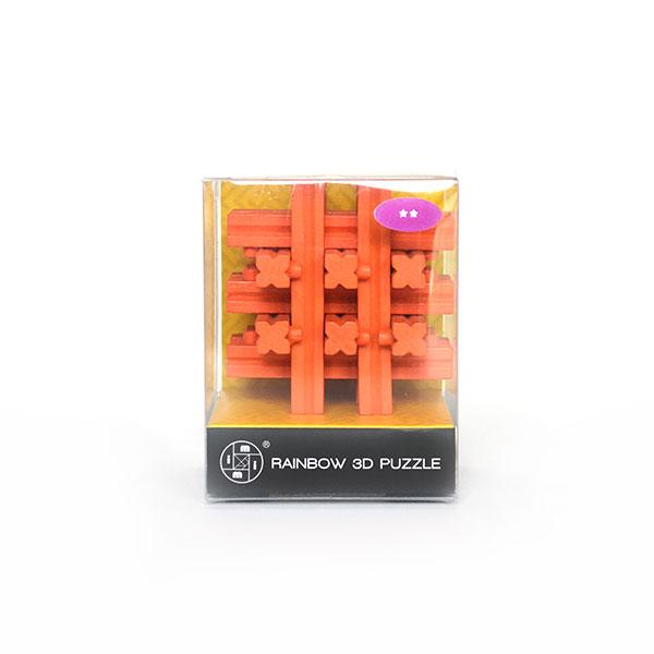 Rainbow 3d Puzzle Turuncu