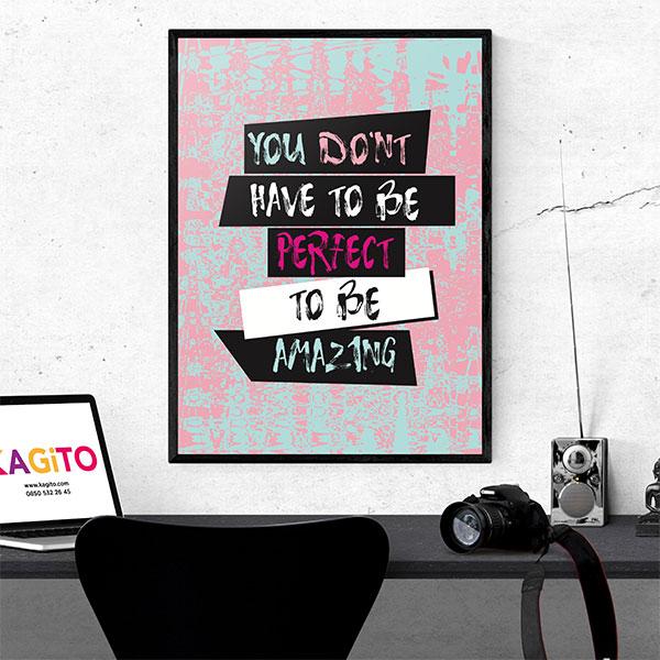 Amazing Tasarımlı Poster