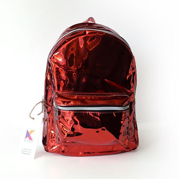 Kırmızı Hologram Sırt Çantası