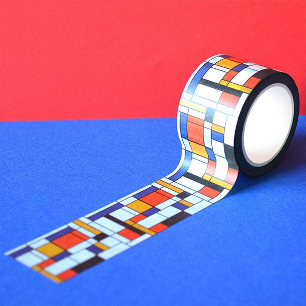 Piet Mondrian Tasarımlı Kalın Bant
